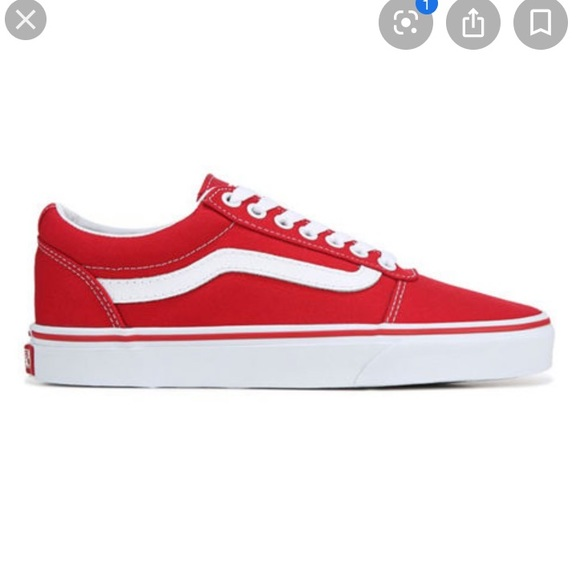 red low top vans Cheaper Than Retail